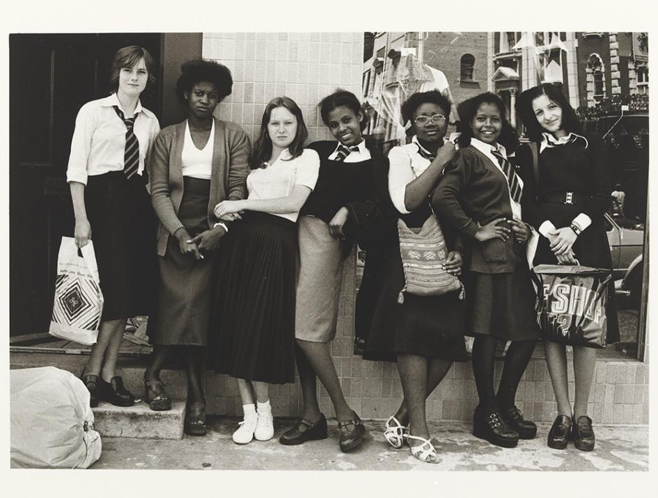 Credits: Al Vandenberg: Untitled (school girls in a line). On a Good Day. 1970s. Victoria & Albert Museum.